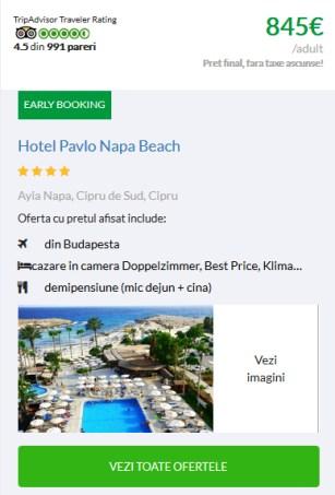 Sejur din Budapesta Pavlo Napa Beach