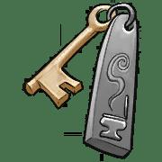 Item #11_1_020 - Klo-Schlüssel der Taverne