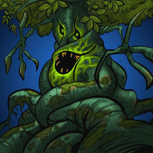Monster #128 - Verseuchter Baum