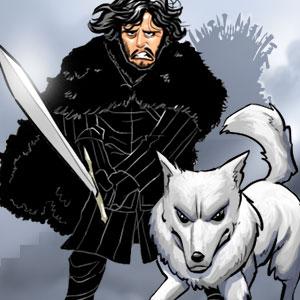 14. Dungeon - Osteros - Schneemann und Schattenwolf