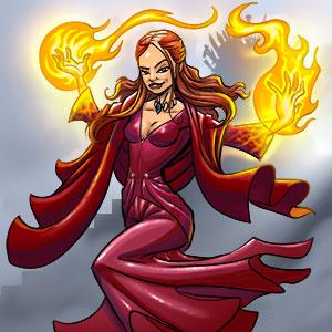 14. Dungeon - Osteros - Die Frau in Rot