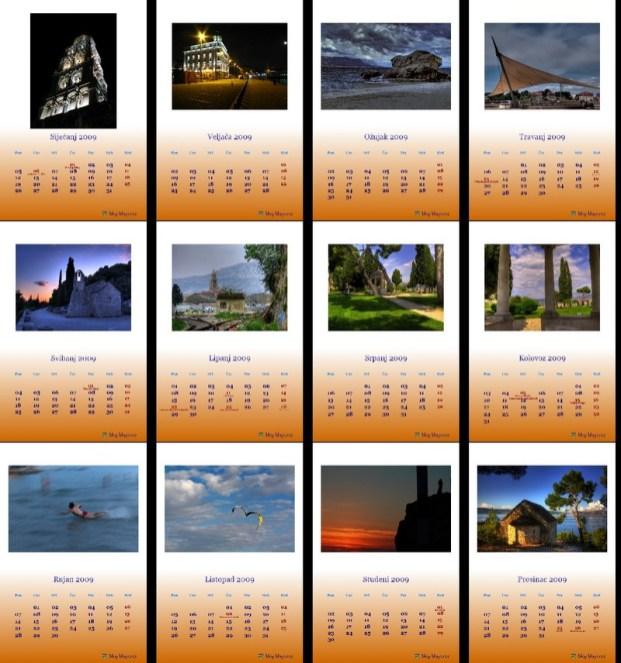 Kalendar 2009 Split
