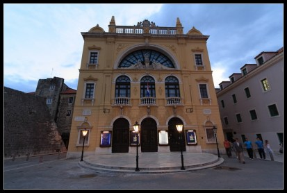 Koso kazalište u Kerumovu
