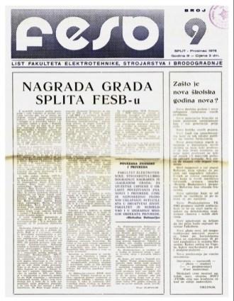 FESB broj 9 (naslovnica)