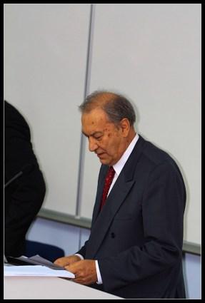 Uvaženi profesor Petar Slapničar, jedan od utemeljitelja Fakulteta