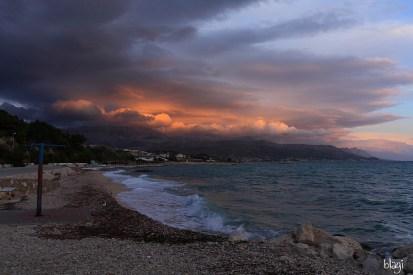 Trstenik u predvečerje, Split, Hrvatska