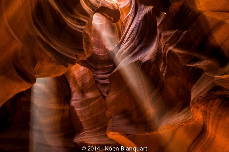 Antelope Canyon , by Koen Blanquart