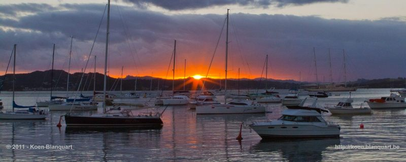 Sunset - Bay of Islands