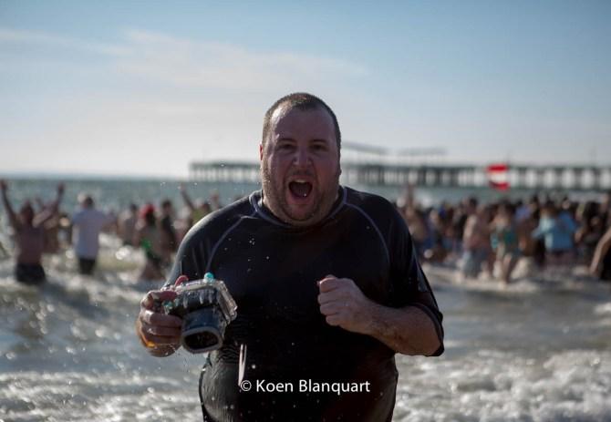 I DID IT! (Coney Island Polar Bear Plunge 2015)