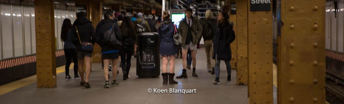 No Pants Subway Ride NYC 2015