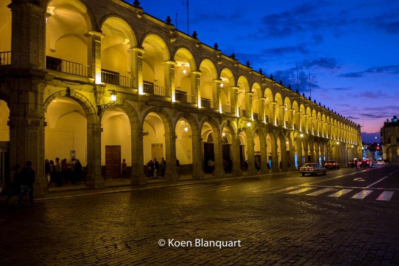South side of the Plaza de Armas