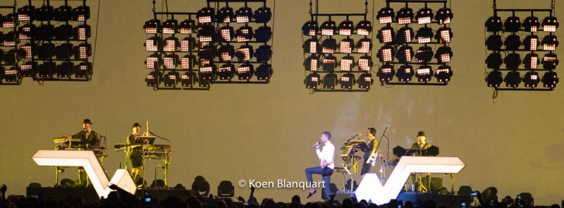 Stromae in concert - Madison Square Garden, New York City
