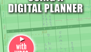 family schedule planner