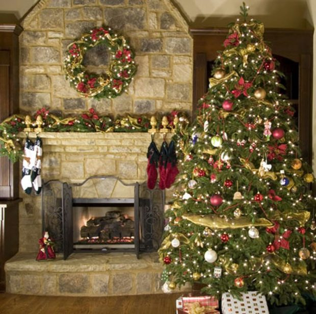 traditional home christmas decorating ideas - Traditional Home Christmas Decor
