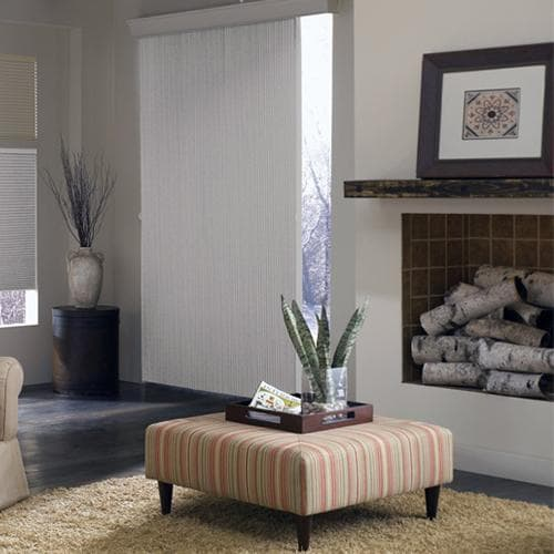 """3/4 """" Single Cell Blackout Vertical Shadings"""