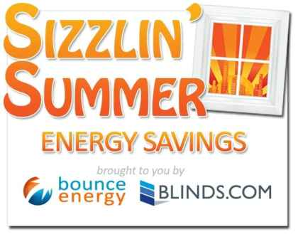 Sizzlin Summer Bounce Energy Blinds.com