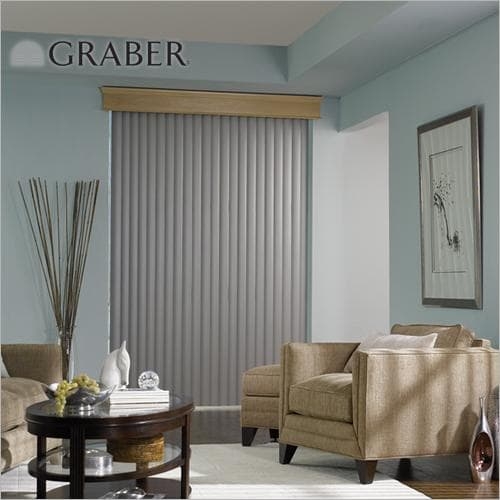 Graber Cordless Vertical Blinds for safety