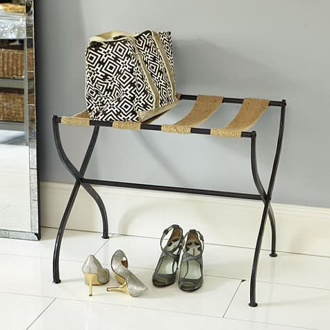 Gaspar Luggage Rack from Ballard Designs