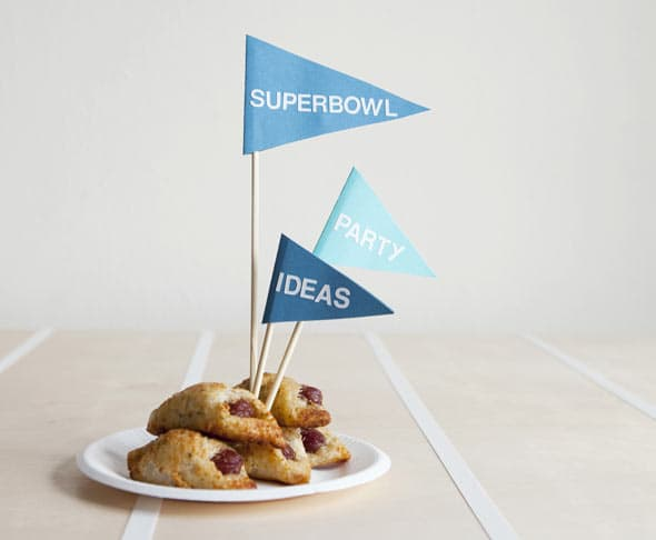 Superbowl food ideas from Blinds.com