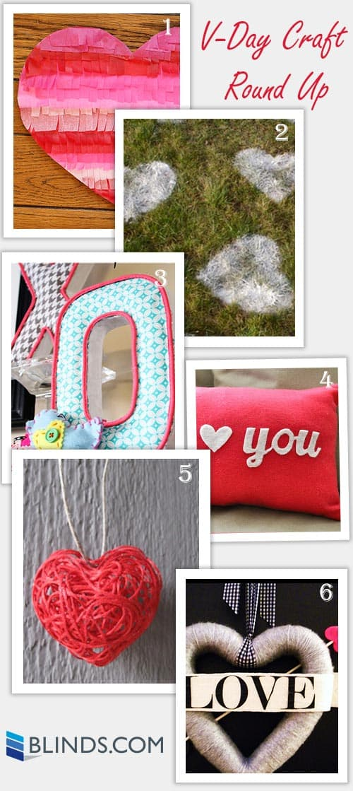 Valentines Day Craft Round Up From Blinds.com