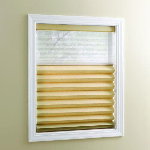 Roman Pleat Shade with Trilight