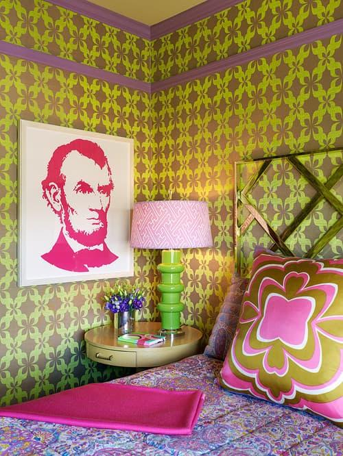 Eclectic Bedroom by San Francisco Interior Designers & Decorators Jeffers Design Group