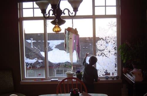 Writing in Window