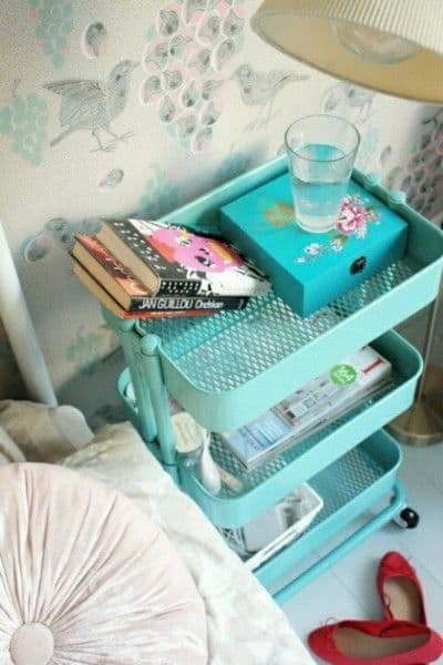 Ikea Raskog cart for dorm
