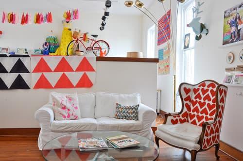 Charming Vintage Living Room