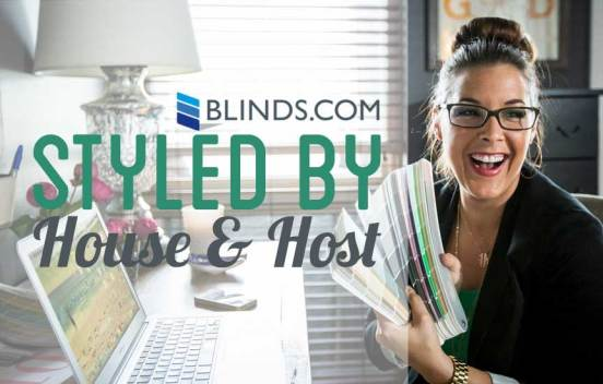Blinds.com Styled By House and Host