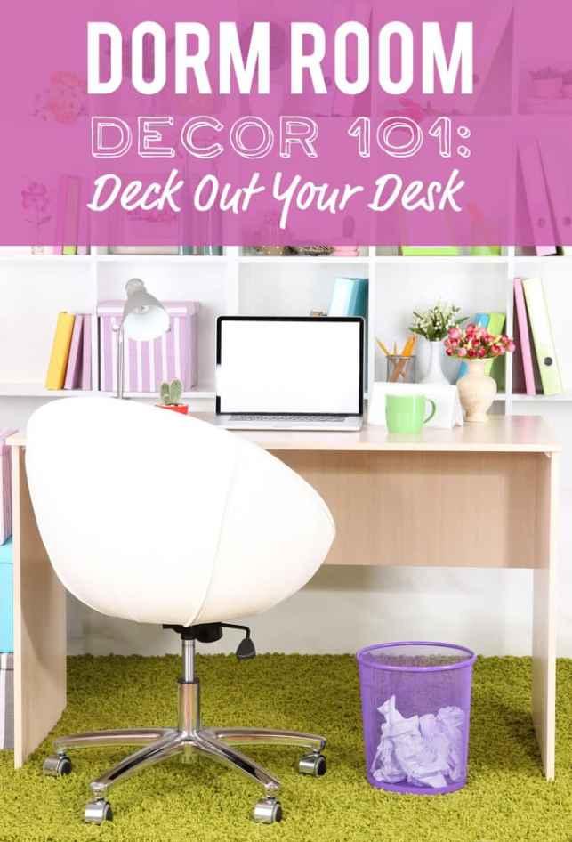 Dorm desk ideas
