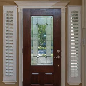 10 things you must know when buying blinds for doors the for Front door window blinds