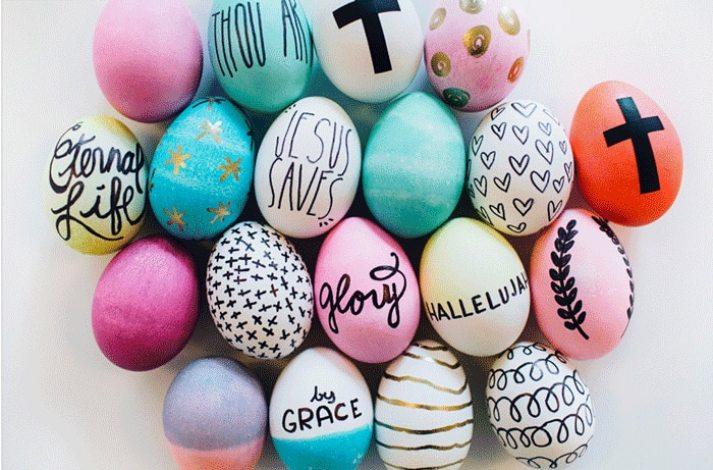 Inspirational Easter Eggs