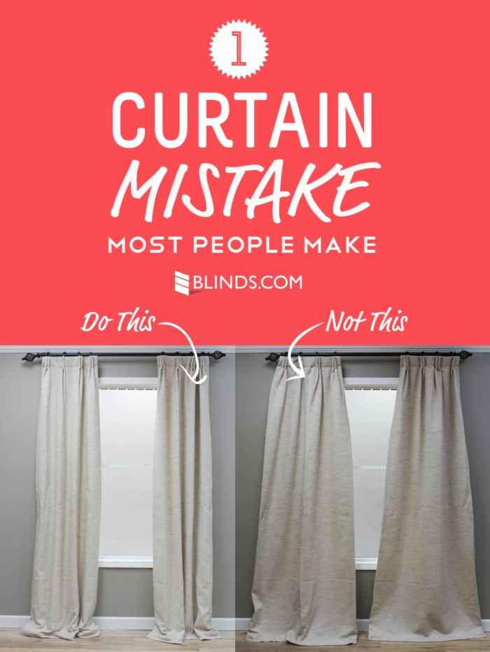 One Curtain Mistake Most People Make The Finishing Touch