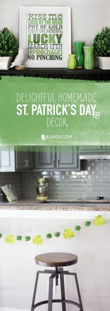 Delightful Homemade St Patricks Day Decor