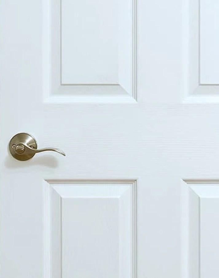 how to clean doors