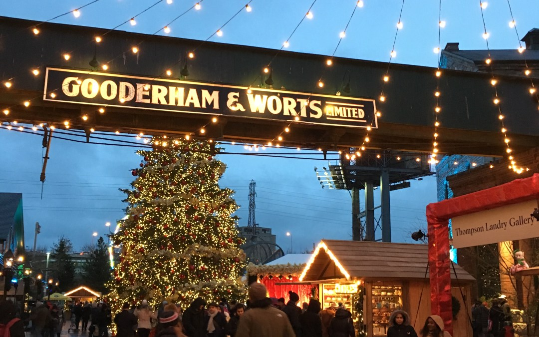 Toronto Christmas Market with Kids in TOw