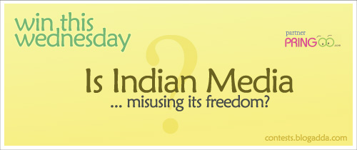 """Contest Topic-""""Is Indian Media Misusing Its Freedom?"""""""
