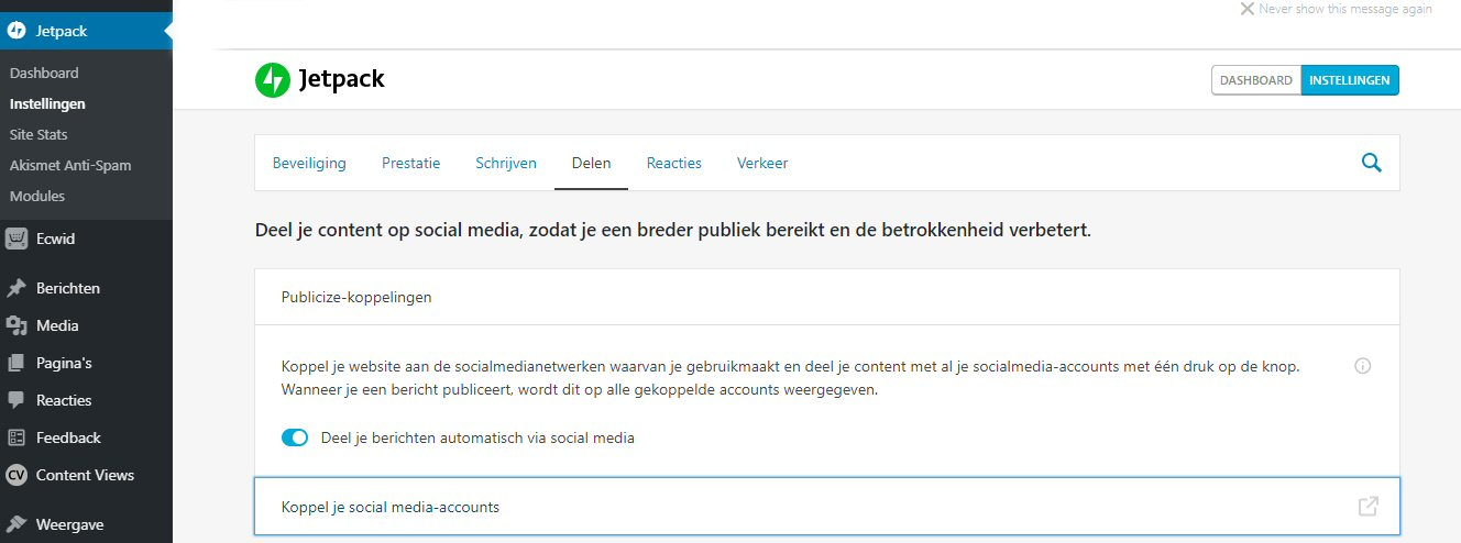 Automatisch posten op Facebook Pages
