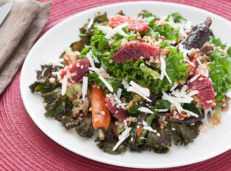Kale Carrot Salad