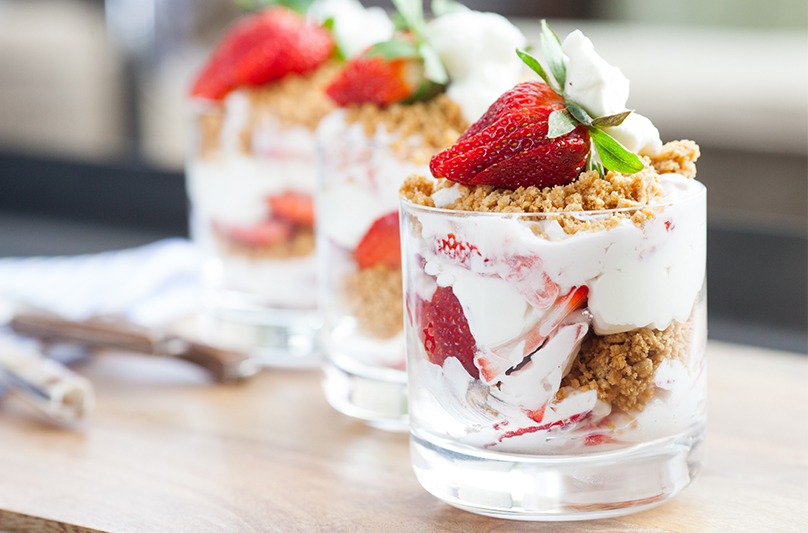 Strawberry Parfaits | Blue Apron Blog
