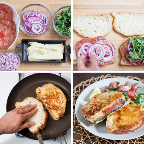 Grilled Cheese Toppings & Pan Grilling