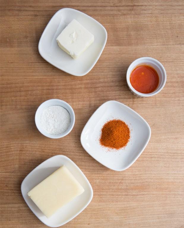 Pretzel Bites with Spicy Cheese Sauce