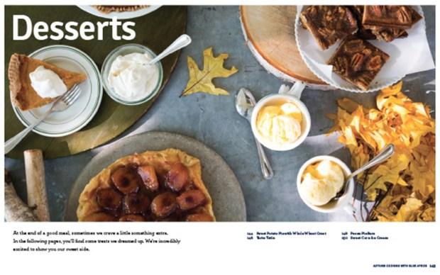 Blue Apron Fall Desserts