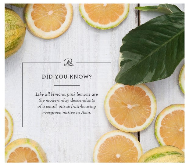Pink lemons facts