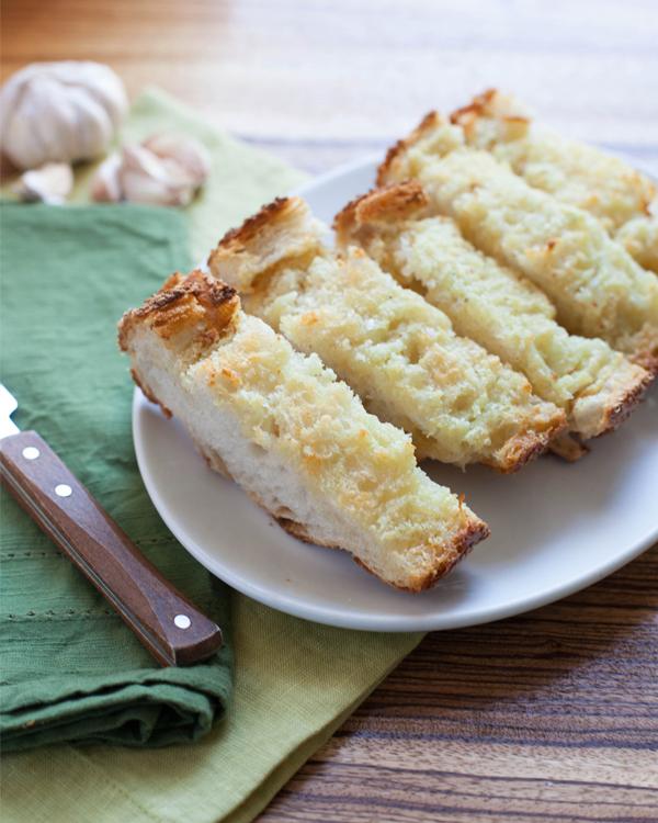 Sliced Homemade Garlic Bread