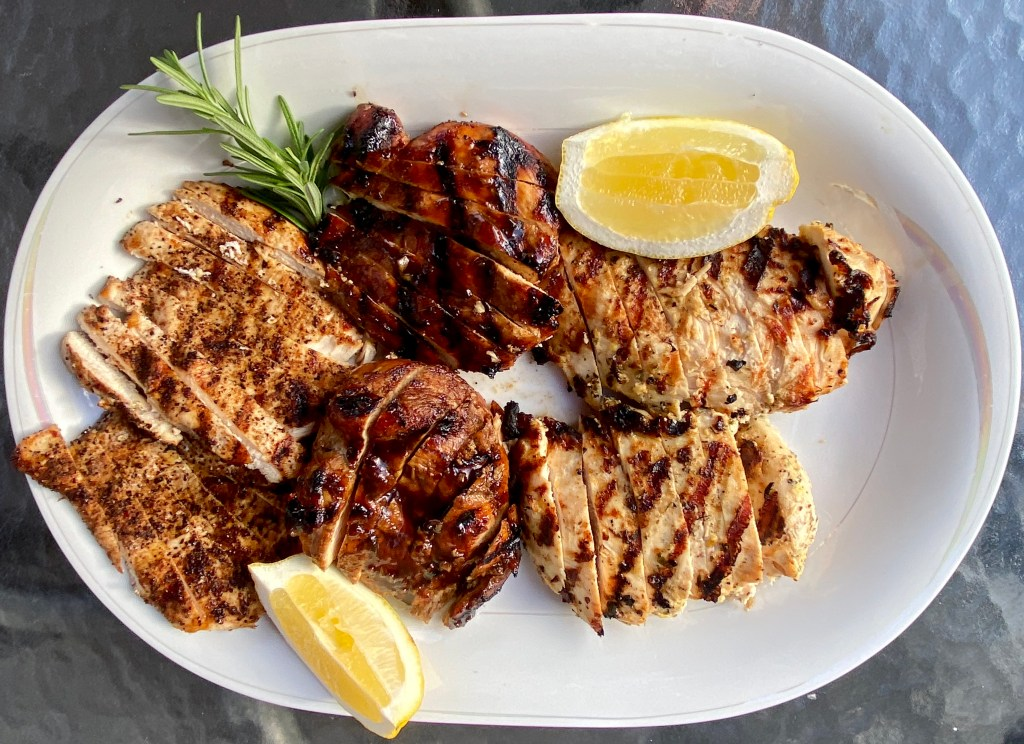 how to make a marinade grilled chicken