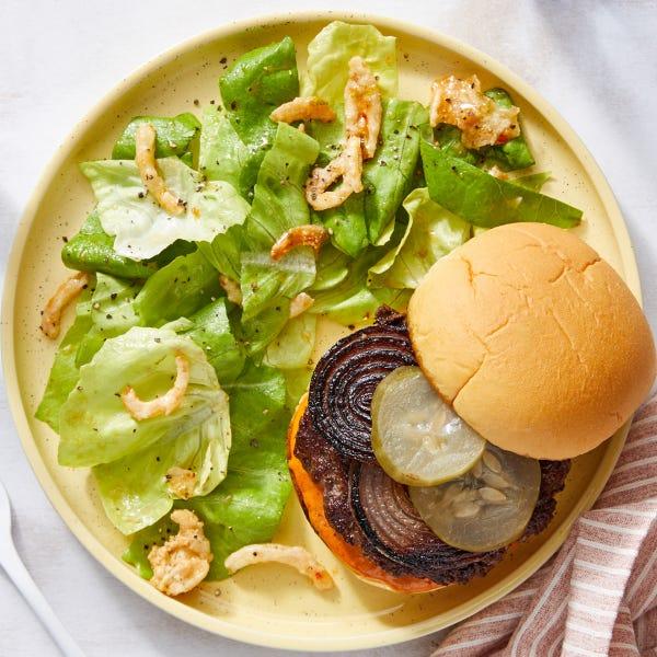 Beef Burgers with Tomato Chutney Mayo