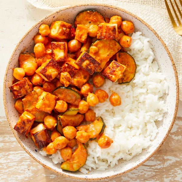 Paneer in Creamy Tomato Curry