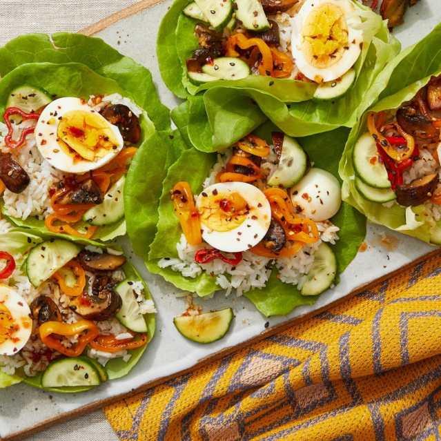 Bib & Butter Lettuce Salad Wraps